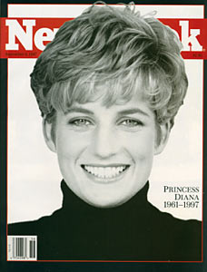 Princess Diana - Newsweek, September 8, 1997 Issue