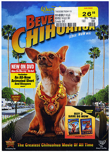 Beverly Hills Chihuahua DVD