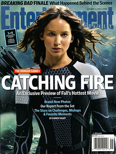 Entertainment Weekly - The Hunger Games: Catching Fire