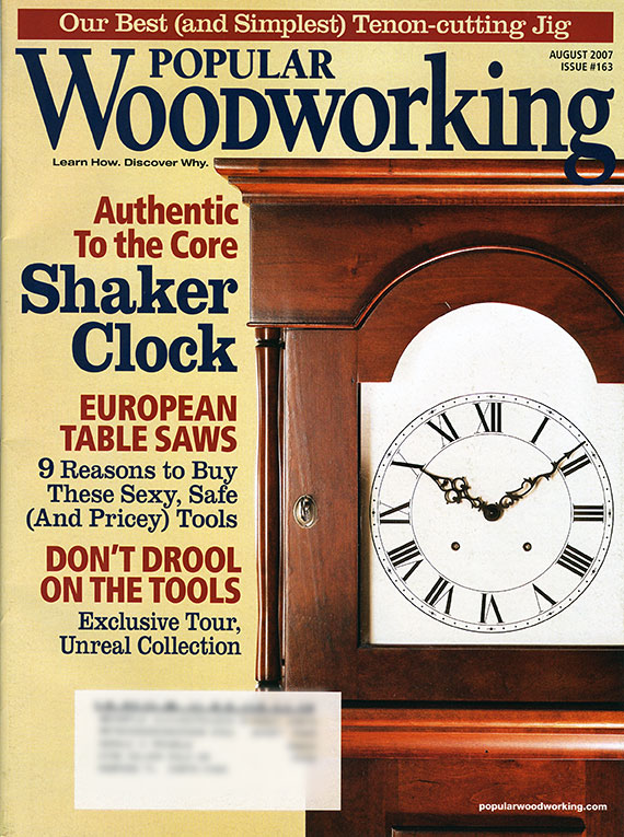 Popular Woodworking - August 2007, Issue #163