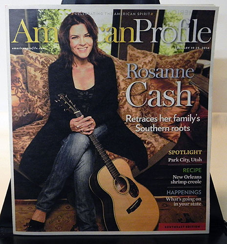 American Profile - Rosanne Cash Cover