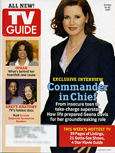 "TV Guide - Geena Davis ""Commander in Chief"" (2005)"
