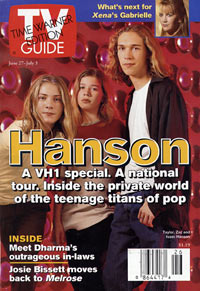 TV Guide - Hanson Cover (1998)