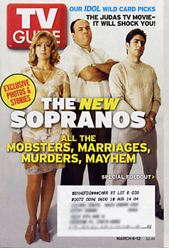 TV Guide - The Sopranos Cover (2004)