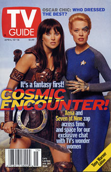 TV Guide - Xena/ Seven of Nine Cover (1999)