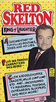 Red Skelton King of Laughter (New VHS)