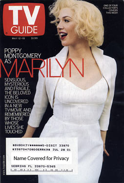 TV Guide - Poppy Montgomery as Marilyn (2001)